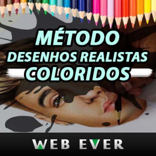 Método Desenhos Realistas Coloridos